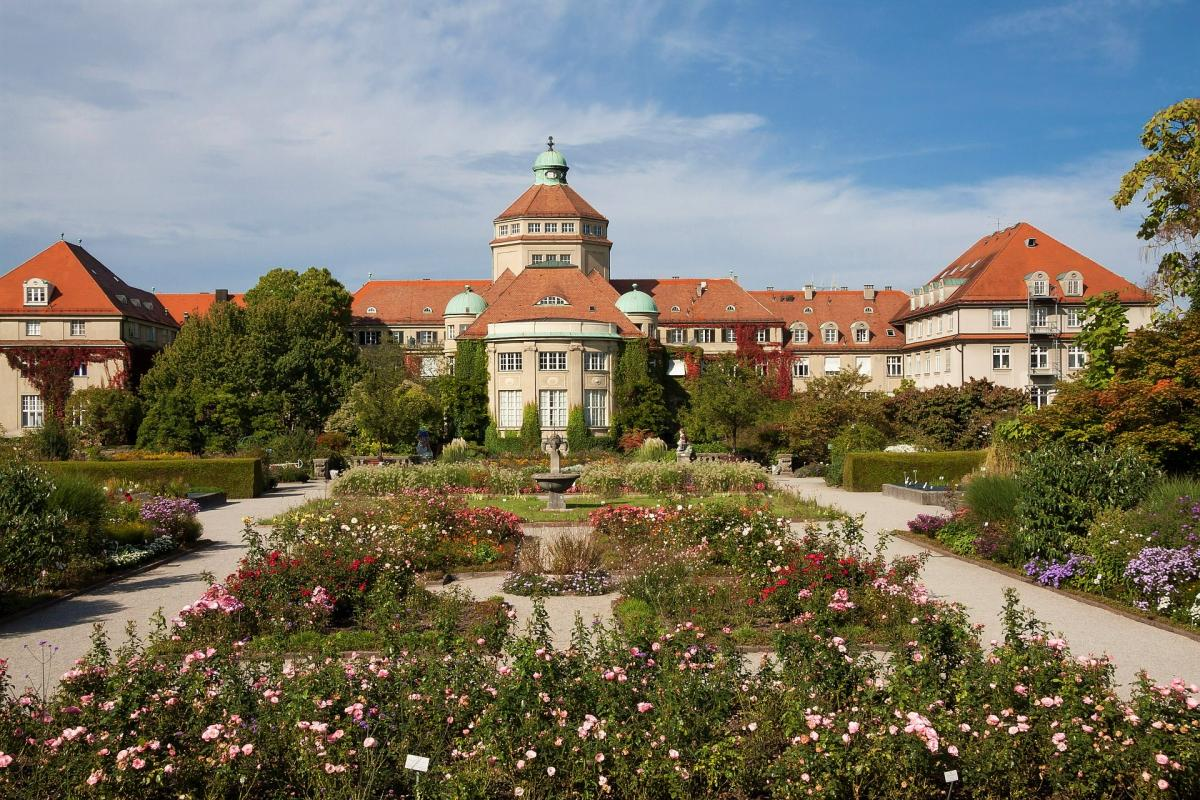 botanical gardens munich
